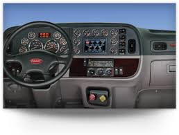 peterbilt 389 interior lights model 389 features specification peterbilt on highway trucks