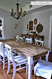 Barn Wood Dining Room Table Best 10 Dining Table Redo Ideas On Pinterest Dining Table