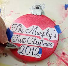 personalized ornament crafts by amanda