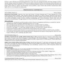 Retail Store Manager Resume Example by Bright Ideas Retail Manager Resume Examples 7 Retail Manager