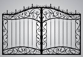 gate and fence metal railings wrought iron balcony railing iron