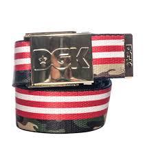 Americana Flags Dgk Americana Flag And Camo Scout Belt Multi Color Dbt147