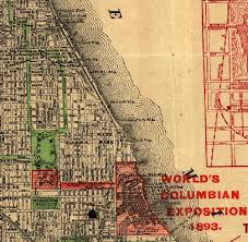 chicago map chicago 1890 map mash up
