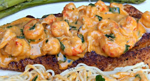 Trout Amandine Pan Fried Speckled Trout With Creamy Crawfish Sauce Trout