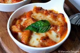 cuisine italienne recette italienne gnocchi à la sorrentina la cuisine italienne
