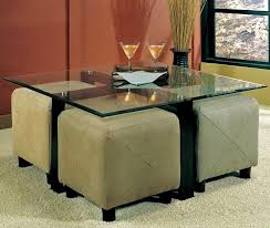 Coffee Table With Stools Underneath Appealing Round Coffee Table With Stools Underneath Round Coffee