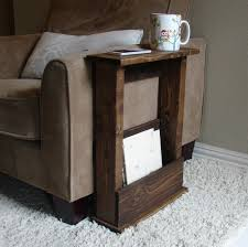 couch arm coffee table coffee accent tables adjustable over arm side table side table