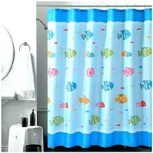 Fish Curtains Fish Shower Curtains Fish Shower Curtain Traditional Print For