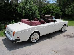 rolls royce white convertible 1983 rolls royce corniche vintage motors of sarasota inc