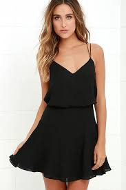sleeveless dress chic black dress sleeveless dress fit and flare dress 64 00