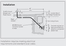 pool light junction box pentair intellibrite white 120v 300w led pool light 601100