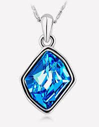 blue crystal necklace swarovski images Blue swarovski crystal jewelry all crystal necklace bracelet png