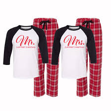 our mr and mrs pajamas mr and mrs claus