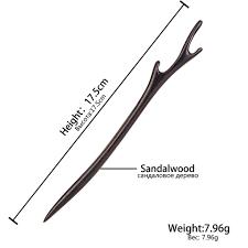shop vintage simple wood hair sticks pins hairwear hairpins