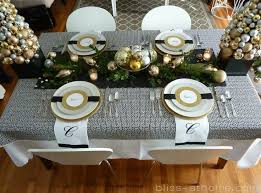 Christmas Table Decoration Ideas Silver by 317 Best Christmas In Silver Gold Images On Pinterest