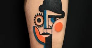 artist creates tattoos you u0027d easily mistake for picasso paintings