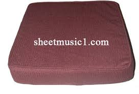 Booster Cusion Piano Bench Booster Cushion