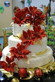 Christmas Cakes And Decorations by Wedding Cakes Christmas Delightful Cake With Great Decorations