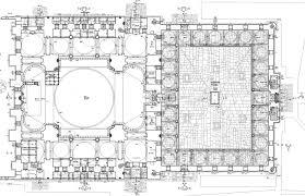 floor plan of mosque suleymaniye mosque istanbul ephesus tours
