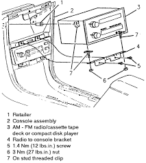 solved how to remove radio in 1988 chevrolet cavalier z24 fixya