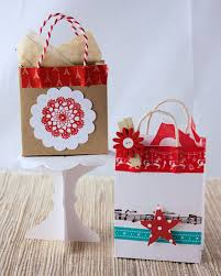 christmas paper bags unique diy christmas bags your loved ones will opening