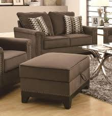 6 dark contemporary ottomans for your living room cute furniture