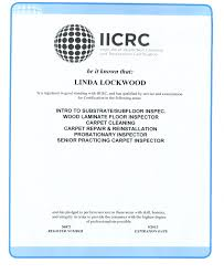 lockwood certified wood laminate carpet inspector 2012 2013 jpg