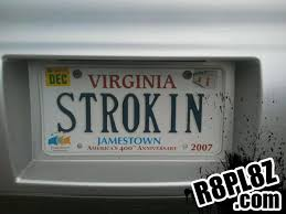 Funny Vanity Plates Buddy In Va Snapped A Pic Of This License Plate This Morning