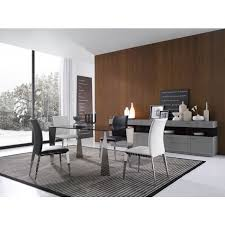 Modern Glass Dining Table E127t Modern Tinted Glass Dining Table