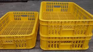 Keranjang Industri keranjang industri krat plastik merk jl kecil warna kuning selatan