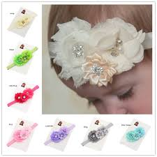 baptism accessories 24pcs headbands flowers headwear s christening headband hair bows