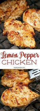 idee de plat simple a cuisiner roasted garlic grilled chicken only 3 ingredients