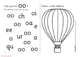 words with oo phonics activities and printable teaching