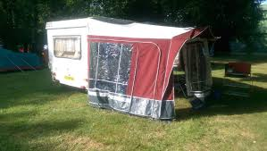 Caravan Awning For Sale Esterel Folding Caravan Caramatic A34 With Awning For Sale