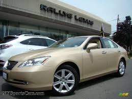 2007 lexus es 350 price new 2007 lexus es 350 in golden almond metallic 117282