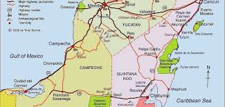 mexico toll road map road driving in the yucatan peninsula and playa