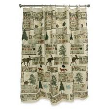 Cabin Shower Curtains Lodge Rustic Shower Curtain Foter
