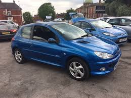 used peugeot 206 cars for sale motors co uk