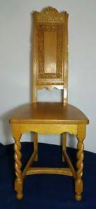 Krug Furniture Kitchener Vintage Antique H Krug Kitchener Ontario Chair Barley Twist