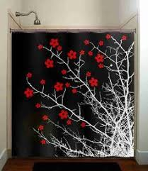 Shower Curtains With Trees Curvarum Shower Curtain