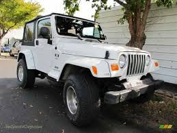 2004 jeep wrangler x 4x4 in stone white 722785 jax sports cars