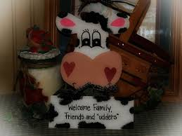 cow kitchen ideas cows welcome sign cow country wall kitchen