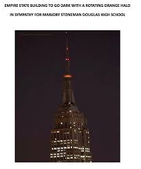 empire state building lights tonight new empire state building will darken its lights tonight in honor