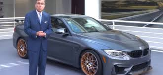 bmw ceo ludwig willisch president and ceo talking about the bmw m4 gts