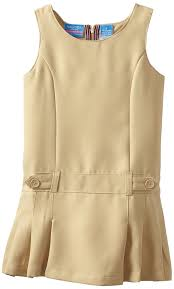 amazon com nautica girls u0027 uniform jumper dress uniform