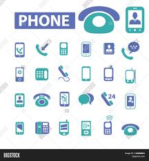 phone icon phone icon communication concept vector u0026 photo bigstock