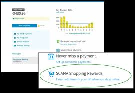 atlanta gas light pay bill shopping rewards scana energy natural gas