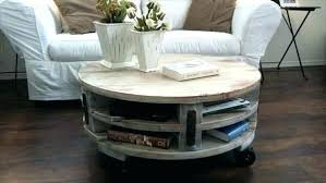 round coffee table with casters brilliant round coffee table with casters co pertaining to wheels