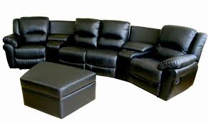 Reclining Chair Theaters Home Theater Seating Set Leather Recliner Chairs Seats With