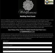 wedding flowers quote form welcome to wildflowers estes park florist flowers for lifes